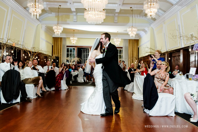 First dance at Stanley Park
