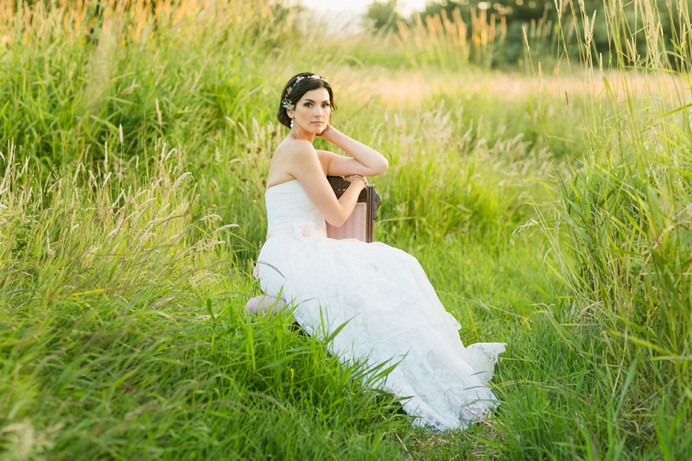 Bridal wedding portraits at Boundary Bay Cammidge House