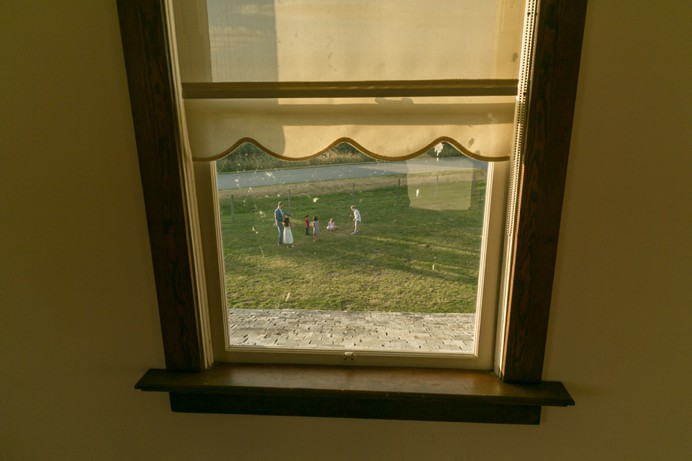 Cammidge House upstairs window