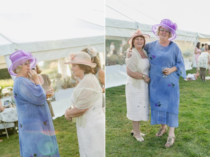 Vintage hats for a vintage tea party