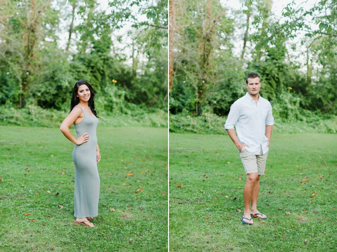 Port moody forest wedding engagement