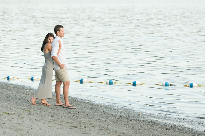 Port moody beach park engagement