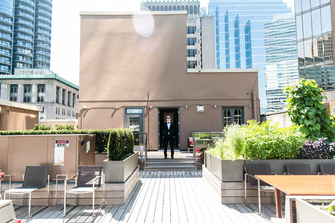 First look on roof top Vancouver Club