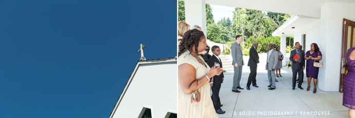 St. Peter's Church wedding New Westminster