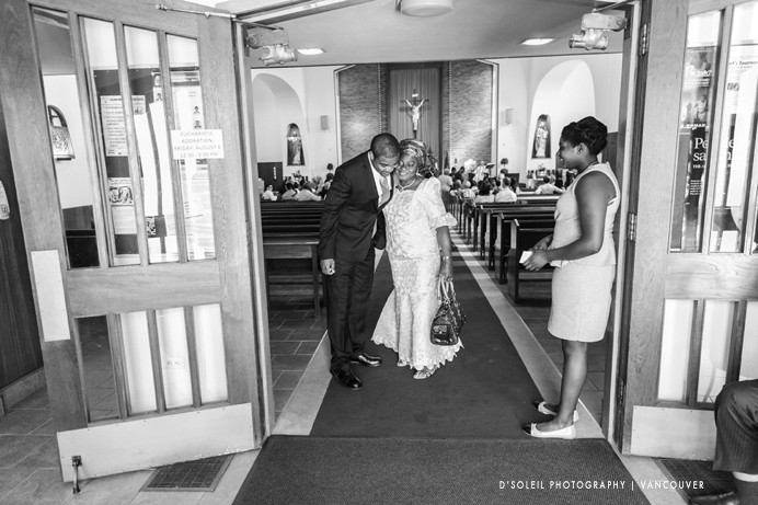 African Caribbean wedding