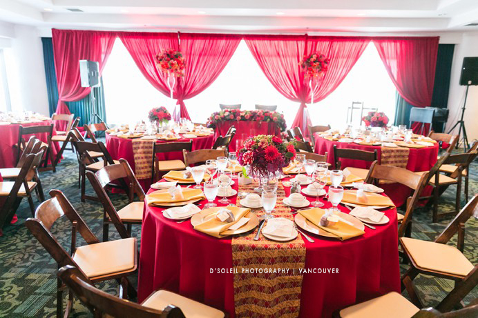 African Caribbean wedding decor