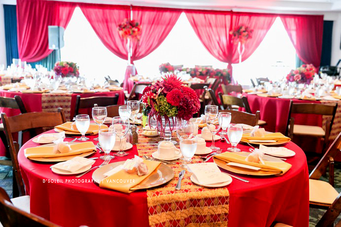 African Caribbean wedding decor by Modern Mint