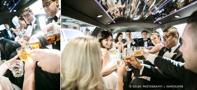 Wedding limo Vancouver