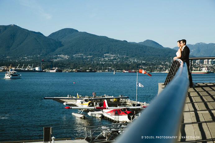 Coal Harbour wedding photos