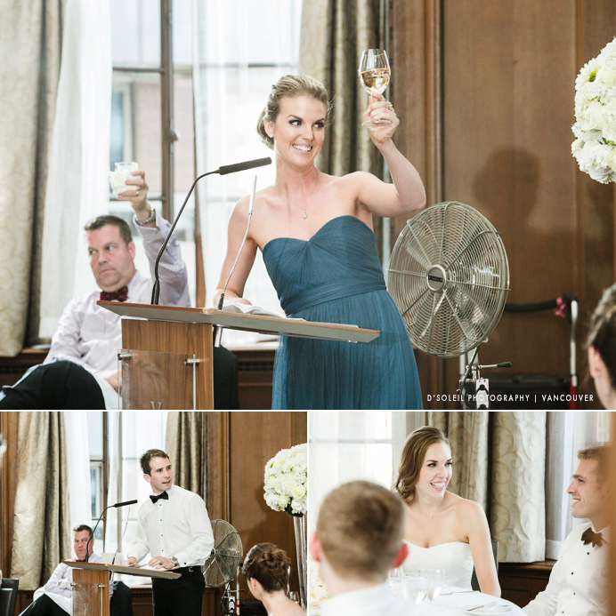 How to photograph wedding speeches