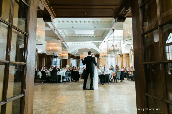How to photograph first dance