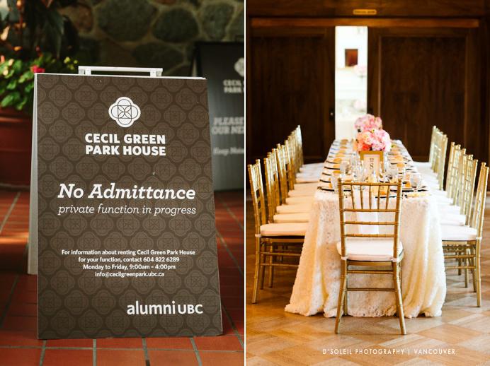 Cecil Green venue for wedding