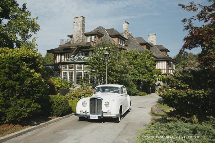 Classic car at Cecil Green Bentley