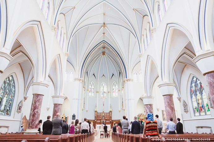 Church wedding ceremony venue Vancouver