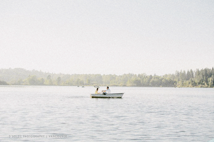 Deer lake engagement session