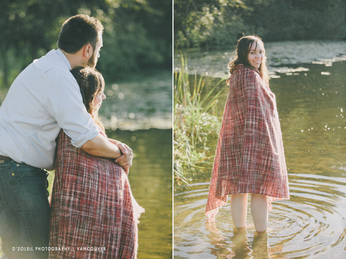 engagement photos at deer lake