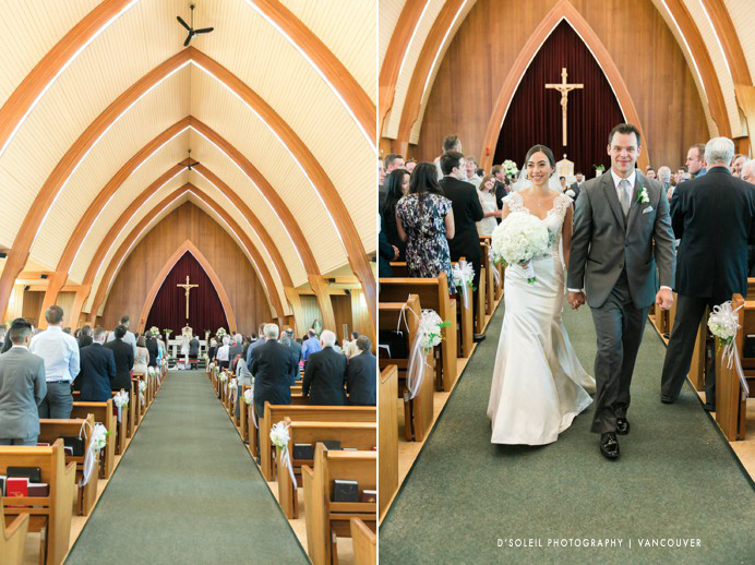 St Francis De Sales Catholic wedding ceremony