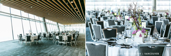 Vancouver convention centre decor by Niche Event Stylists