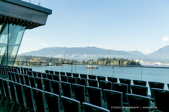 View of Burrard Inlet from Vancouver Convention Centre