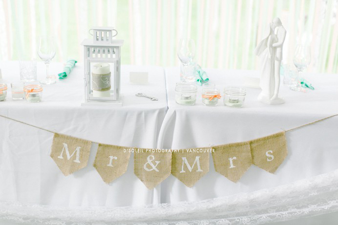 country DIY wedding decor