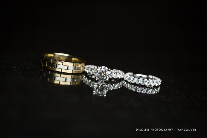 Westcott Icelight wedding rings