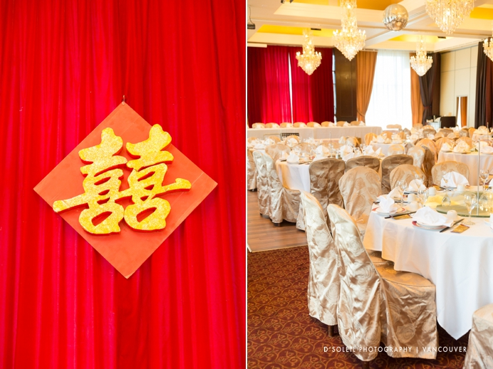 Shiang garden wedding reception in Richmond