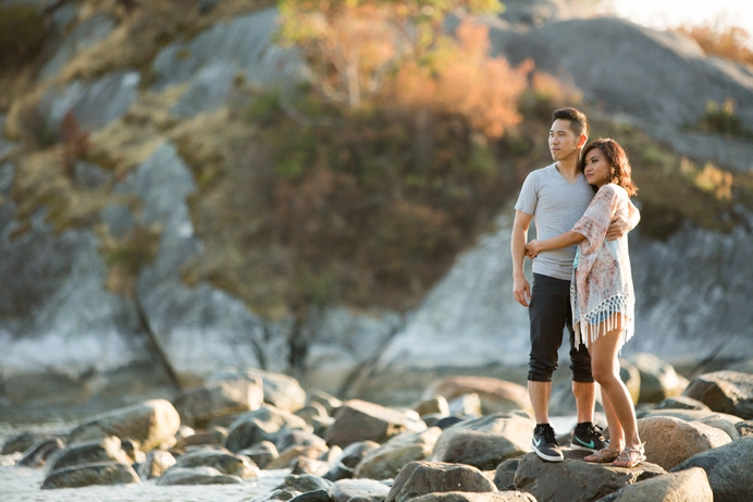 Whytecliff engagement session