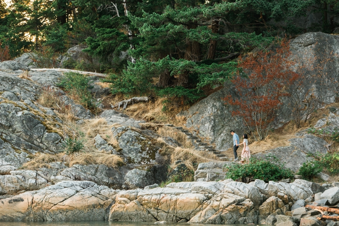 Whytecliff staircase engagement