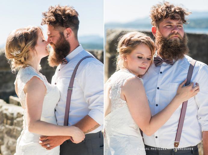 hip bride and groom wedding