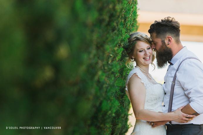 SFU campus wedding photos