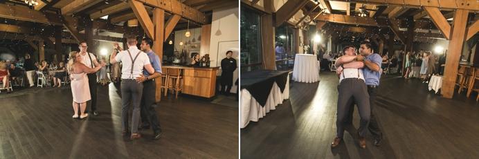 Wedding dance floor DJ at Diamond Alumni Centre