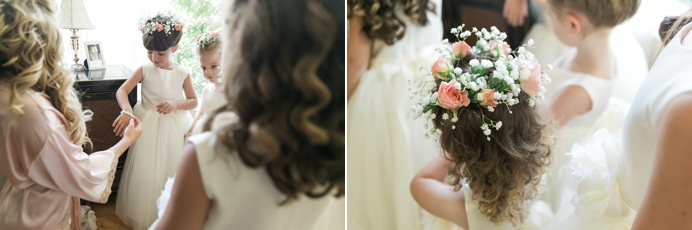 hairpiece for flower girls