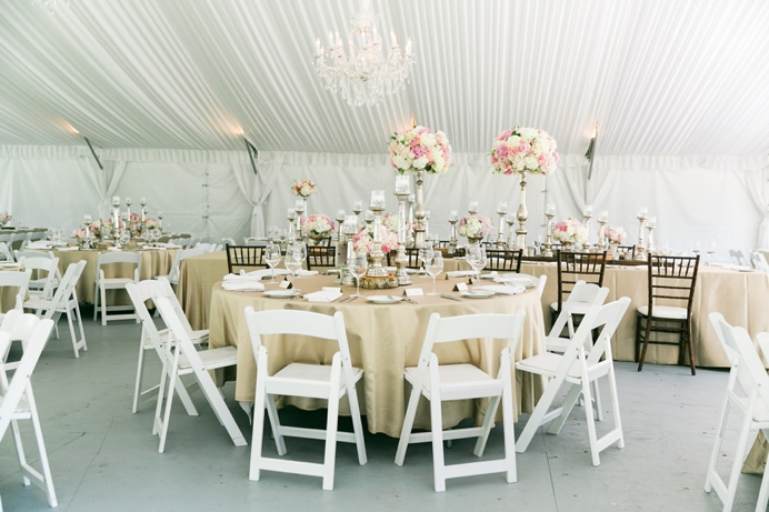 Rustic decor at Hart House wedding