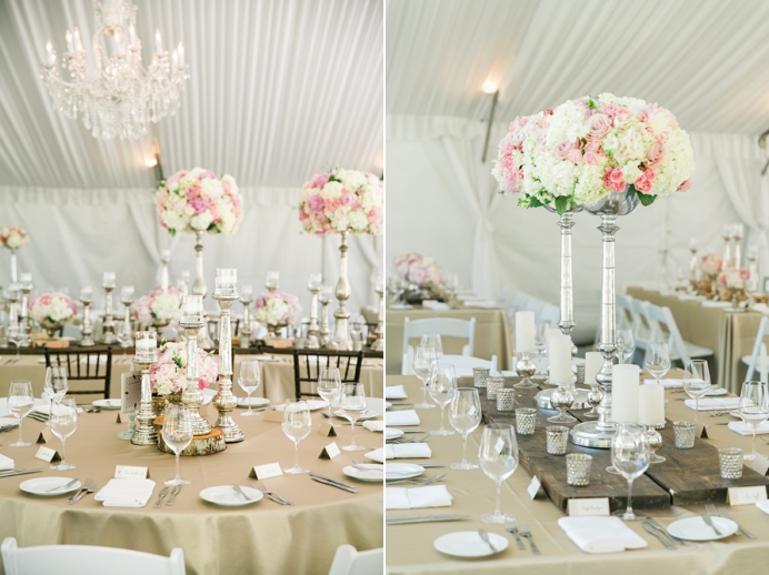 Beautiful wedding design at the Hart House Restuarant