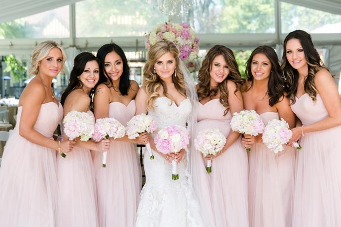Bridesmaids at Hart House