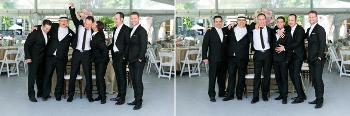 groomsmen at Hart House