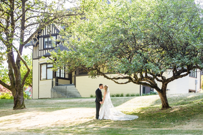 Deer Lake Hart House wedding