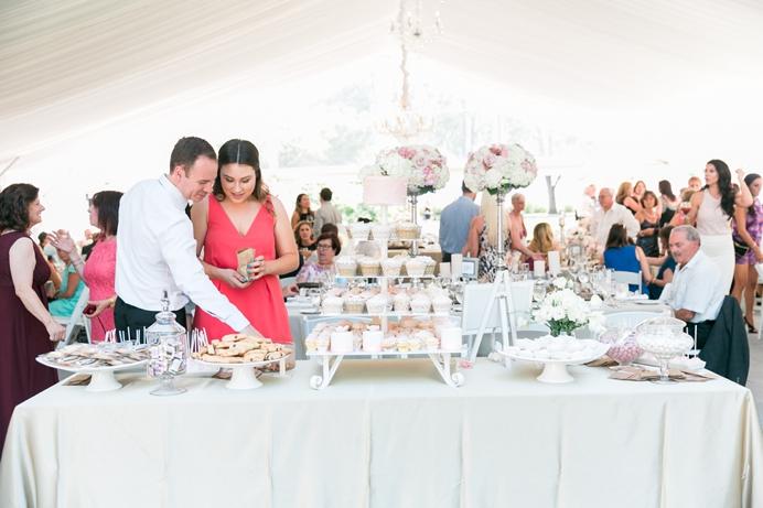 Hart House wedding tent