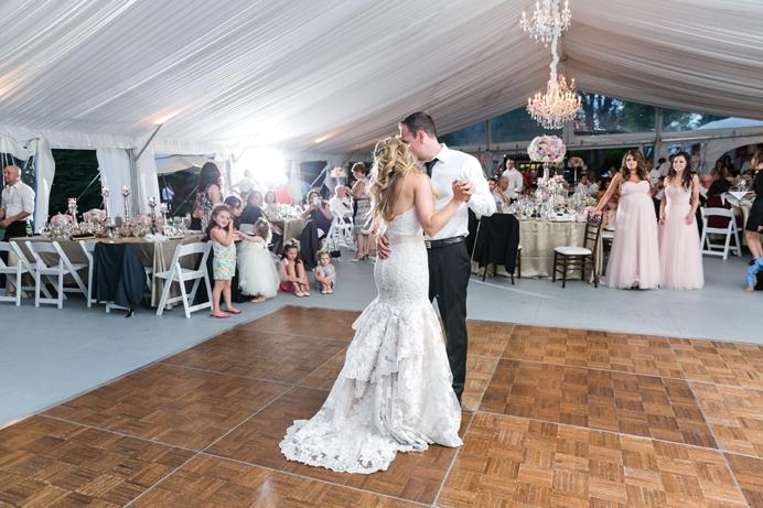 First dance Hart House wedding