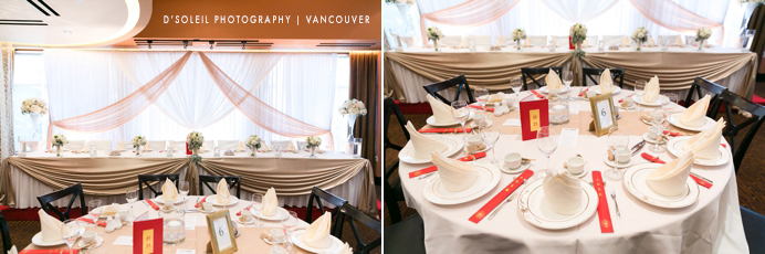 Kirin Startlight restaurant interior wedding photo