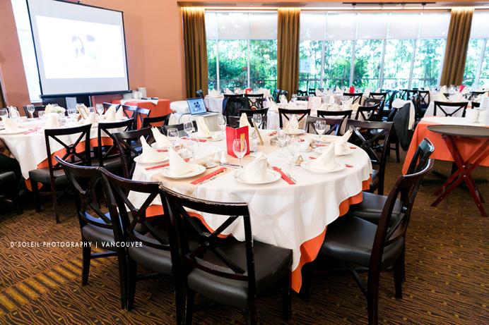 Kirin Starlight wedding dining room