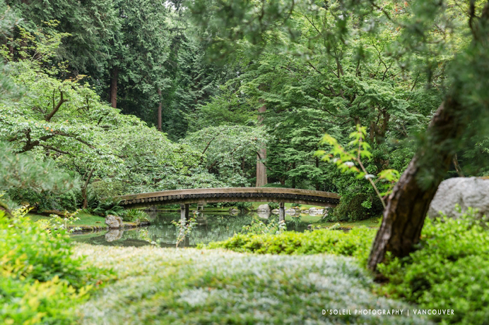 Nitobe Gardens UBC wedding