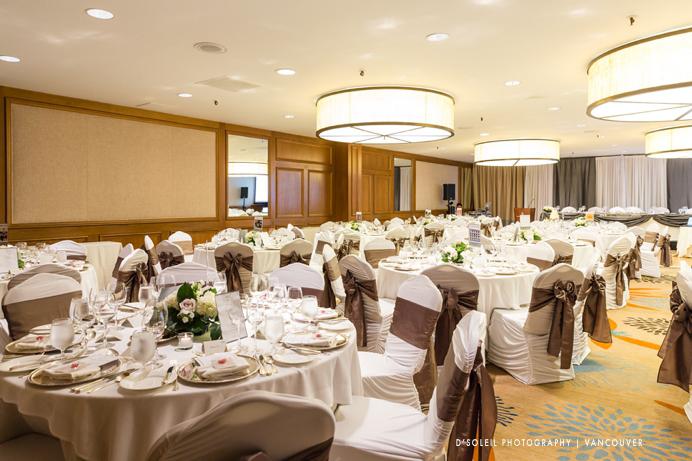 Four Seasons Hotel ballroom reception