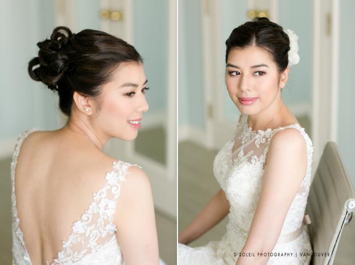 Bridal portrait at Four Seasons Hotel