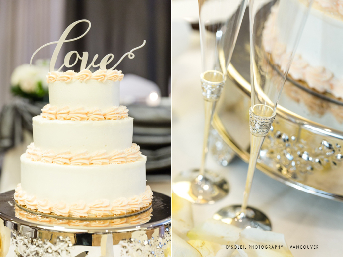 Simple wedding cakes Vancouver