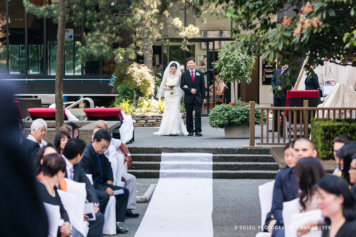 Wedding ceremony at Four Seasons Hotel