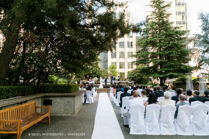 Four Seasons Hotel wedding ceremony
