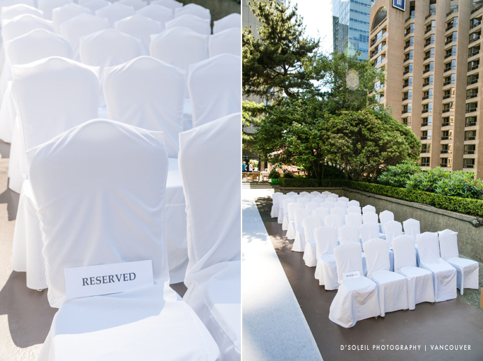 Vancouver chair covers
