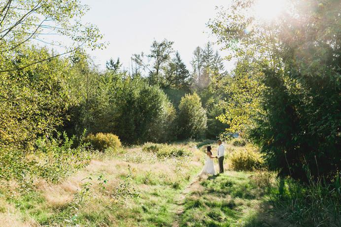 Bride and groom Newlands Golf wedding