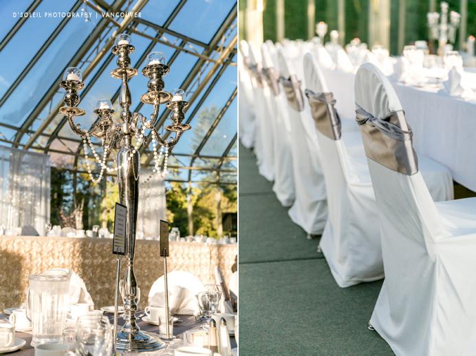 Newlands Golf wedding decor